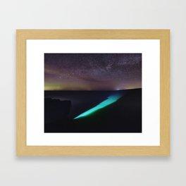 Slice of Light Framed Art Print