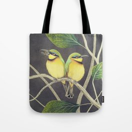 Little Bee Eaters Tote Bag