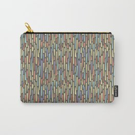 Saul Bass-Inspired Midcentury Rectangles Carry-All Pouch