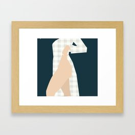 Soft Hearts Strong Thighs Framed Art Print