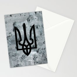 Ukraine's Falcon Stationery Cards