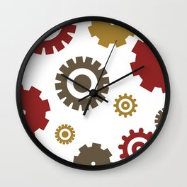Steam Age Gears Wall Clock