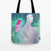 into the wild Tote Bags featuring Wild by Inmyfantasia