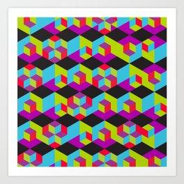 theblackcube Art Print