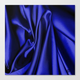 Beautiful Blue Christmas Canvas Print