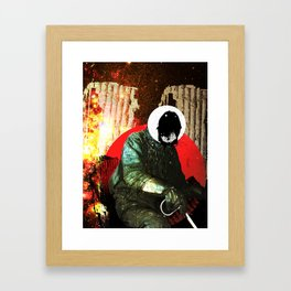 Wait, What Time Is It? Framed Art Print