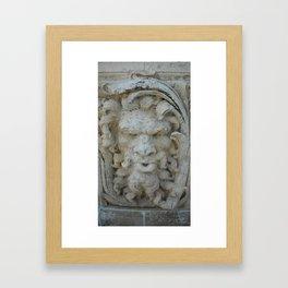 Wall in Vizcaya Framed Art Print