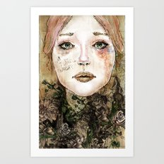 Indelicate Thorns Art Print