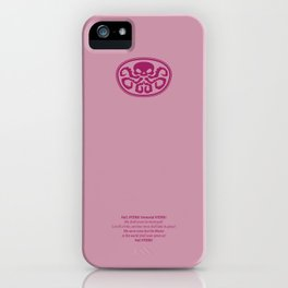 HYDRA illustrated logo iPhone Case