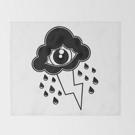 Eye Cloud Throw Blanket