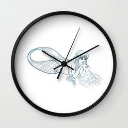 Mermaid Sketch Wall Clock
