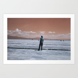Candela en Salinas Art Print