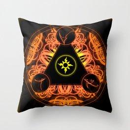 Light Sigil! Throw Pillow