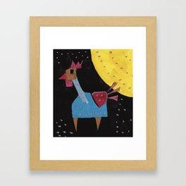 Squareland - squicken Framed Art Print