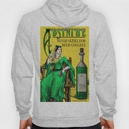 Absinthe Vintage Poster Hoody