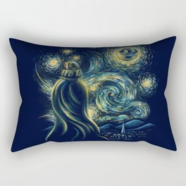 Death Starry Night Rectangular Pillow