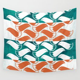 Foxhatched Wall Tapestry
