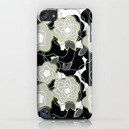Mysterious Night - Flowers by SewMoni iPhone Case