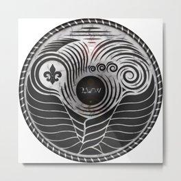 Event Horizon Seal Metal Print