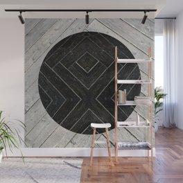 Black Kiss Wall Mural