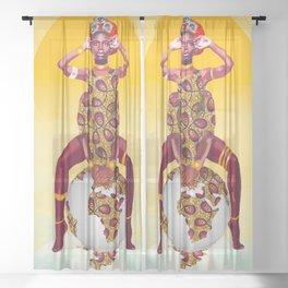 Malkia Sheer Curtain