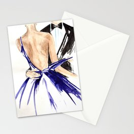 In his hands Stationery Cards