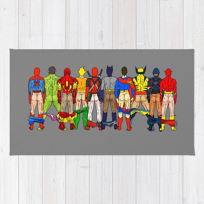 Superhero Rug Rugs Ideas