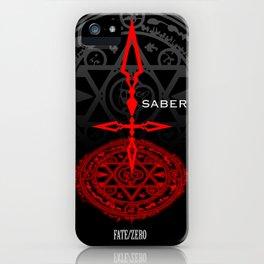 Fate/Zero Saber iPhone Case