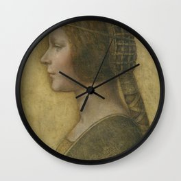 Da Vinci Art Print Wall Clock