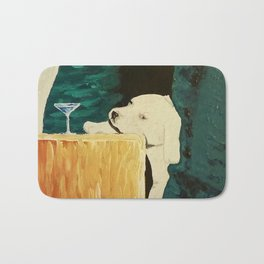 sleepy puppy Bath Mat