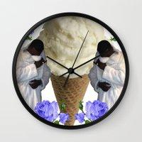 gucci Wall Clocks featuring Gucci Daddy  by Gabbi GOON
