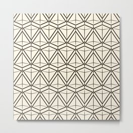 "Art Deco . ""Argo "". Light background Metal Print"