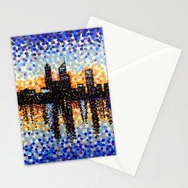 Perth City Sunrise Stationery Cards