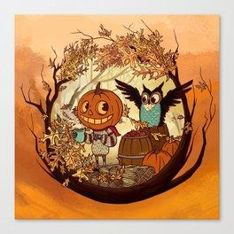 Fall Folklore Canvas Print