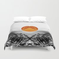 xbox Duvet Covers featuring Why down the circle by Stoian Hitrov - Sto