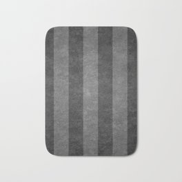 Grey Stripes Bath Mat