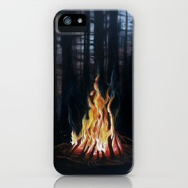 Campfie Strories iPhone Case