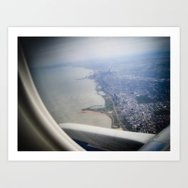 Chicago From The Sky Art Print