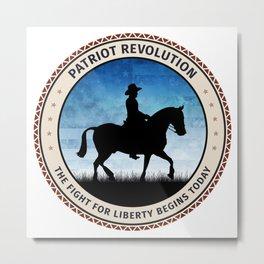 Patriot Revolution Metal Print