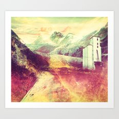 The Moment's Passed Art Print