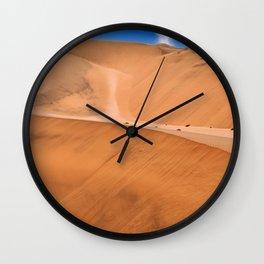 The Namib Desert, Namibia Wall Clock