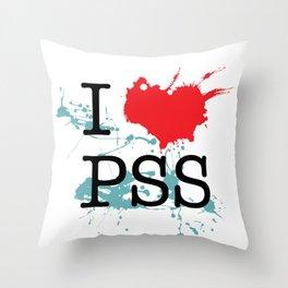 I Love Paesello Throw Pillow