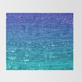 SEA SPARKLE Throw Blanket