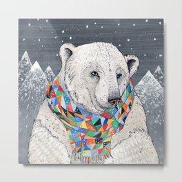 Penwyn Polar Bear Metal Print