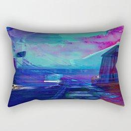 Beneath The Prydwen Rectangular Pillow