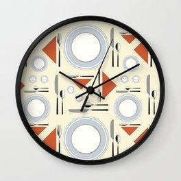 Tableware Wall Clock