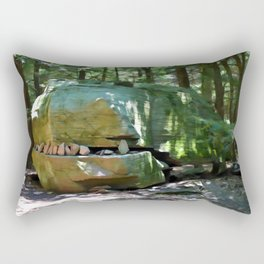 Alligator Rock 2 Rectangular Pillow