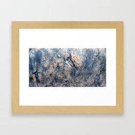 Cirrus Clouds: Close up #3 Framed Art Print