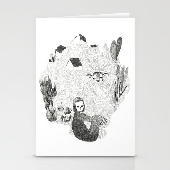 Tales from the sea Stationery Cards