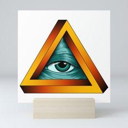 All-seeing Eye Mini Art Print